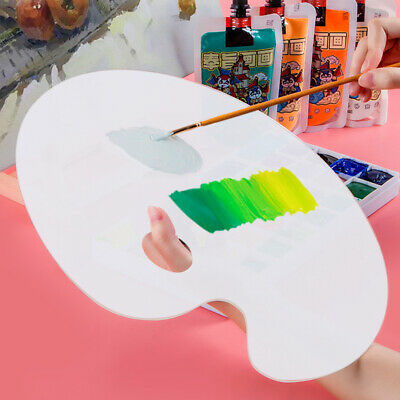 £6.59 • Buy Clear Artist Paint Pallet Painting Tray Palette Color Mixing For Plastic Paints!