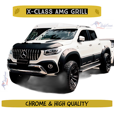 AU599 • Buy Front CHROME Grill AMG Style Replacement To Suit Mercedes-Benz X Class
