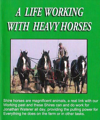 A Life Working With Heavy Horses Dvd: Shire Horses Fore Cart Farming Ploughing  • 16.99£