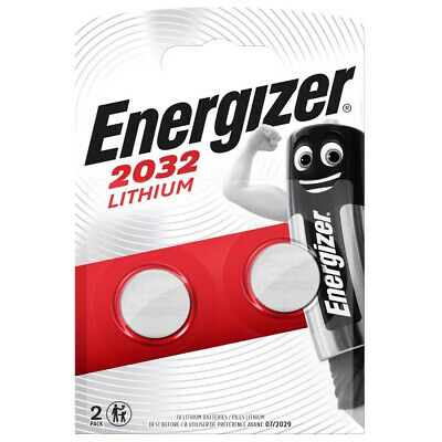 £2.85 • Buy Car Key Alarm Battery 2 ENERGIZER CR2032 Fits Selected Audi BMW Ford Remote Fobs