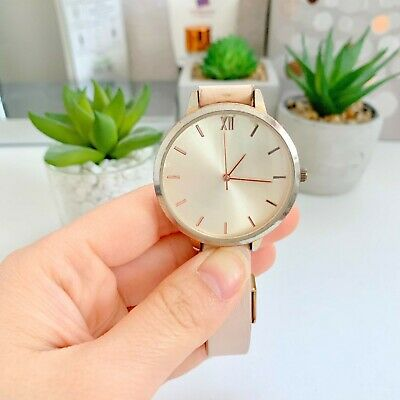 £1 • Buy New Look Pink Rose Gold Wrist Watch Accessories