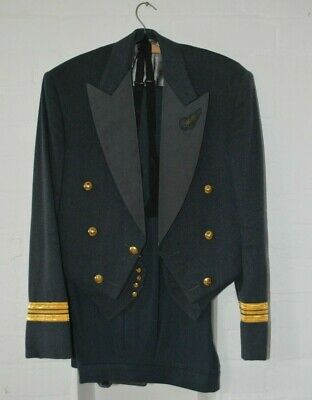 Vintage RAF Officers Mess Dress 1959 Including Waistcoat & Bow Tie, Cold War Era • 60£