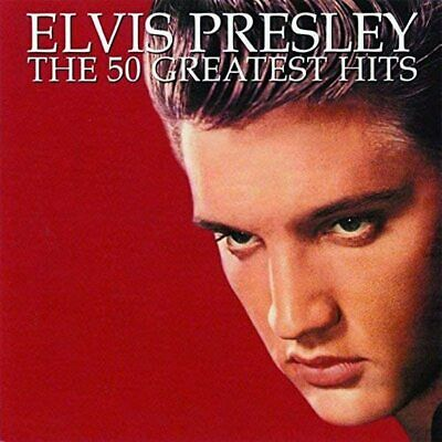 ELVIS PRESLEY - 50 GREATEST HITS 2xCD *NEW / FREE POSTAGE* • 8.45£
