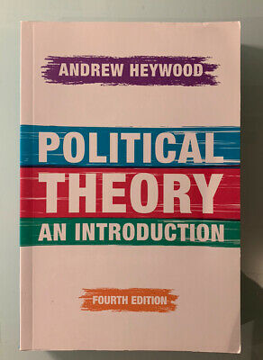 Political Theory: An Introduction By Andrew Heywood (Paperback, 2015) • 15£