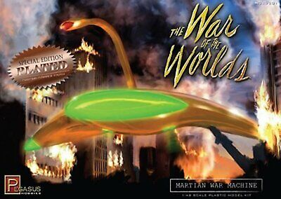 War Of The Worlds 1953 Martian War Machine 1:48 Plated Model Kit Pegasus 9201 • 38.59£