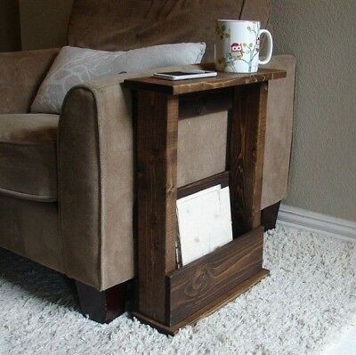 £38.99 • Buy Solid Wood Narrow Side Table With Storage - Various Sizes & Colours Available