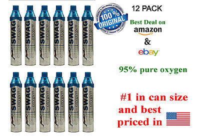 Oxygen Can (12 Pack) Portable Oxygen In A Bottle • 114.48£