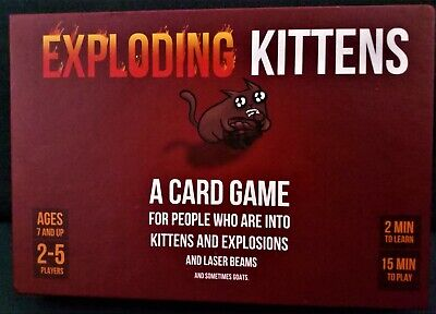 AU25.83 • Buy Exploding Kittens Original Edition Card Game