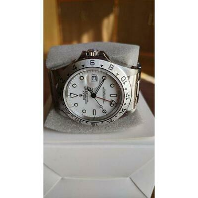 $ CDN9324.46 • Buy Rolex Explorer II 16570 No. A Stainless Steel AT White Dial FS