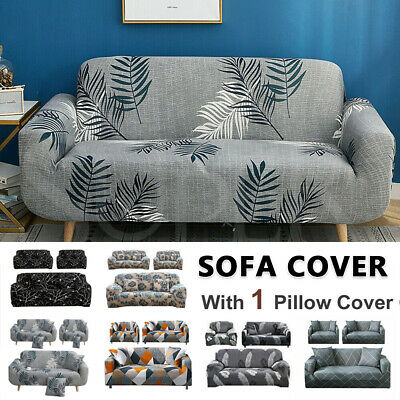 AU13.99 • Buy EASY Stretch Couch Sofa Lounge Covers Recliner 1 2 3 4 Seater Dining Chair Cover