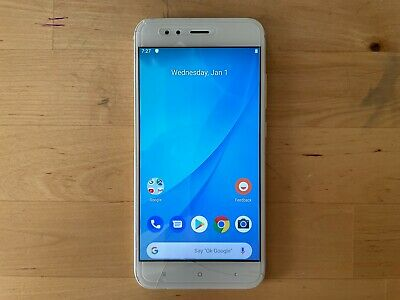 AU16.49 • Buy Xiaomi Mi A1 64GB Gold Smartphone Dual SIM Android - Great Working Condition