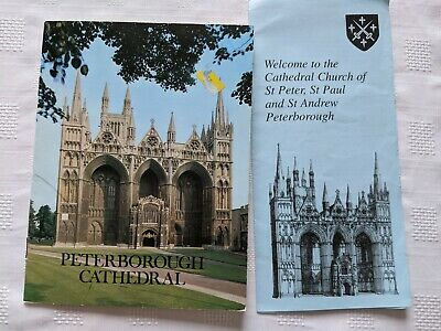 Peterborough Cathedral Guide - The Rev. R E Sibthorp 1984 ISBN 0859332292 • 4£