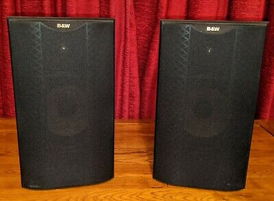 Bowers And Wilkins (B&W) DM601 Bookshelf Speakers - Black - Great Condition • 150£