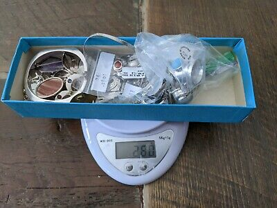 $ CDN60 • Buy Sterling Silver Jewelry Lot 250g Wear And Repair New And Vintage