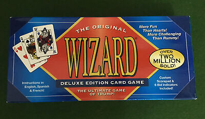 FAMILY CARD GAME - WIZARD DELUXE EDITION By US GAME SYSTEMS 2010 - CARDS SEALED • 12£