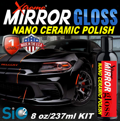 $26.95 • Buy Mirror Gloss Ceramic Car Coating  Pro Grade  Car Polish Wax Wet Look High Gloss
