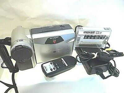$ CDN105.90 • Buy Sharp ViewCam 8 LCD Camcorder VL-A10U , WORKS, 8mm W/ Charger, Remote, Battery