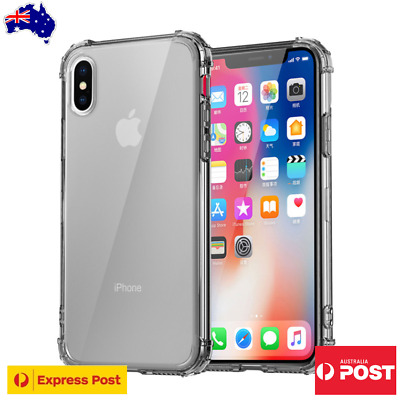 AU4.99 • Buy Clear Shockproof Case Cover For IPhone 11 Pro XS MAX X XR 8 7 6 Plus SE