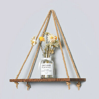 £6.99 • Buy 3Pcs Wall Mounted Floating Wall Shelves Hanging Storage Display White Home Décor