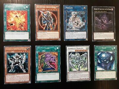 8x Toon Chaos Cards (In Picture) - Mint Condition TOCH-EN0** All Sleeved YUGIOH • 4£