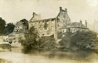 £28 • Buy  Ruswarp Nr Whitby Ruswarp Mill Burnt Down 25.09.11 By JT Ross(posted 5d Later)