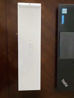 $ CDN884.58 • Buy New Apple Watch Series 6 44mm Stainless Steel W/White Sport Band GPS+Cellular