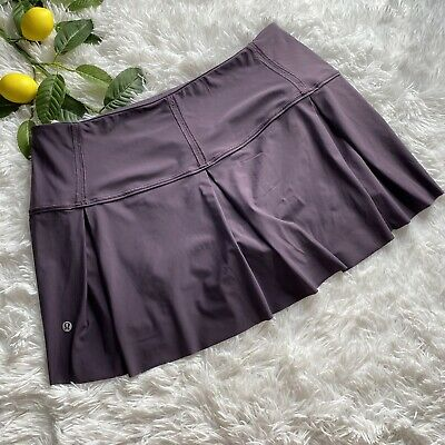 $ CDN78.76 • Buy Lululemon Lost In Pace Skirt Skort Size 10 Regular Womens Boysenberry