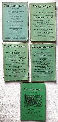 Job Lot 5 X The Countryman Comes From The Country Magazines • 19.99£
