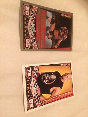 Wwe Slam Attax Rebellion Stone Cold Wrestling Trading Cards X 2 + Free Post • 1.75£