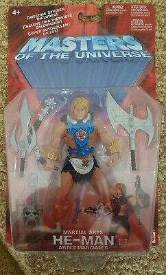 $24.99 • Buy NEW MASTERS OF THE UNIVERSE MOTU MARTIAL ARTS HE-MAN MATTEL 2002 FIGURE! A49