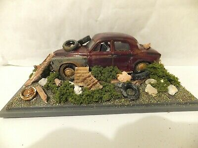 Rover P4 Barn Find Diorama   1:43   Code 3   Used   • 12.99£