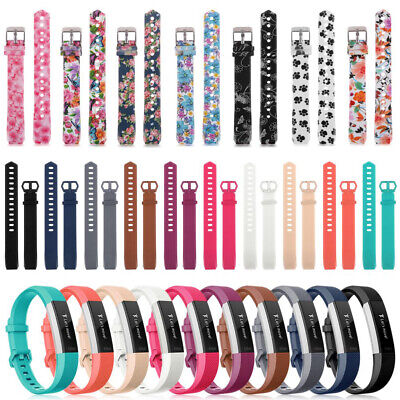 AU4.69 • Buy For Fitbit Alta/ Fitbit Alta HR Silicone Replacement Wristband Watch Band Straps
