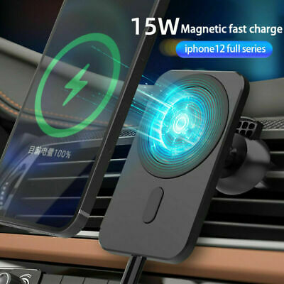 AU7.69 • Buy Car Mount Wireless Charger +MagSafe For IPhone 12/12 Pro/12 Mini/12 Pro Max AU
