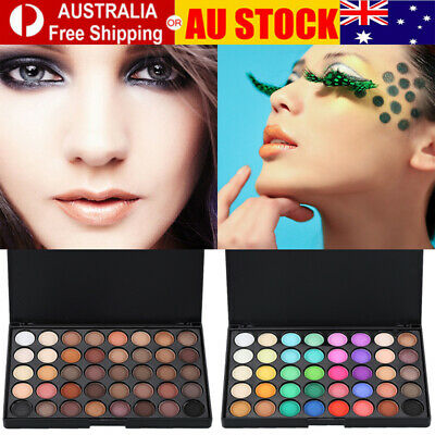 AU12.59 • Buy 40 Color Nude Eyeshadow Palette Mineral Matte Pigment Eye Shadow Waterproof AU~~