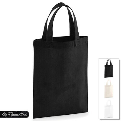 Cotton Party Bag For Life  Westford Mill Shopping Carrier Sack • 3.37£