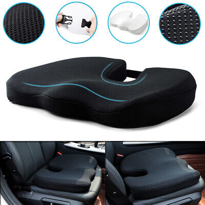 AU32.69 • Buy Memory Foam Thick Car Front Seat Cushion Office Chair Soft Breathable Pad Mat