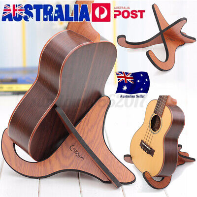 AU17.57 • Buy Foldable Stand Bracket Holder For Guitar Ukulele Violin Mandolin Banjo AU