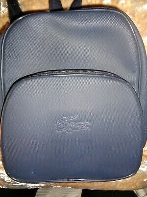 Lacoste Navy Blue Backpack 11  X 9  X 3   • 39.99£