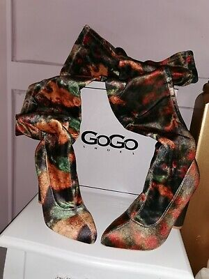 Size 5 38 Over The Knee Thigh High Heeled Boots BNIB • 29.99£