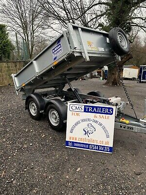 Ifor Williams 8ft Tipping Trailer • 4,600£