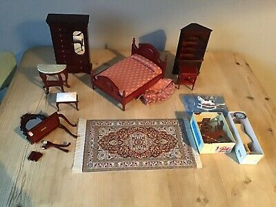 Dolls House Furniture Job Lot Dolls House Emporium Streets Ahead Etc • 12.50£