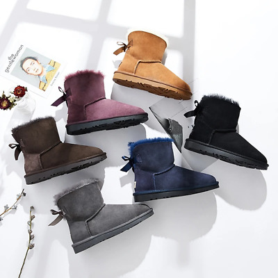 AU39.99 • Buy 【LAST CHANCE】Ever UGG Mini Women Boots With Bailey Bow