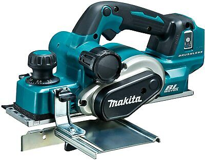 Makita 82X3mm 18V  Brushless 12000Rpm Electric Wood Planer KP181DZ Body Only • 265.82£