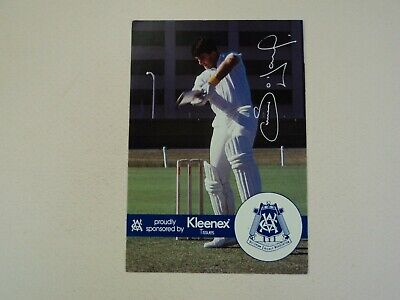AU7.99 • Buy 1989-90 Vca Kleenex Tissues Simon O'donnell Victorian Sheffield Shield Card