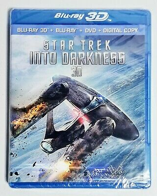 AU13.10 • Buy Star Trek Into Darkness 3D Blu-Ray NEW Factory Sealed Free Shipping