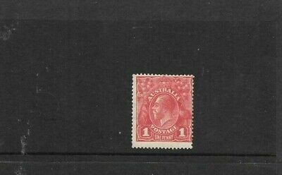 AU8.50 • Buy STAMPS AUST  KGV 1d RED LARGE   MULTI    MINT  HINGED