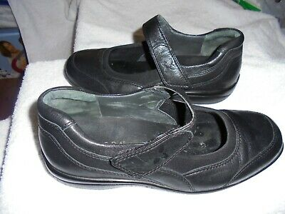 AU40 • Buy Ziera Ladies Black Leather Flat Shoes Size 41  10 Ex Condition