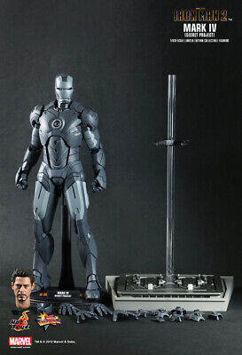 "$ CDN507.86 • Buy Hot Toys Iron Man 2 Mark IV Secret Project MMS 153 1/6 Action Figure ""NEW"""
