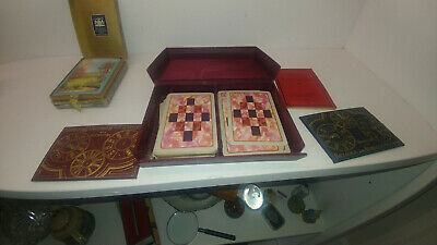 Vintage 1933 Wills Rubicon Bezique. Set + Dr La Rue Boxed Playing Cards • 8.95£