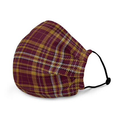£6.50 • Buy Motherwell FC Tartan Reusable Adjustable Face Mask Mouth Cover With Filters